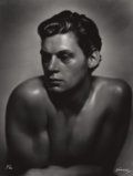 Photographs:20th Century, GEORGE HURRELL (American, 1904-1992). Johnny Weissmuller,1932. Gelatin silver, 1979. 48 x 36 inches (121.9 x 91.4 cm). ...