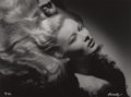 Photographs:20th Century, GEORGE HURRELL (American, 1904-1992). Veronica Lake, 1941.Gelatin silver, 1979. 34-1/2 x 46-1/2 inches (87.6 x 118.1 cm...