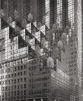Photographs:Contemporary, BRUCE BARNBAUM (American, b. 1943). Buildings and Trees, NewYork, 1986. Gelatin silver, 1986. 12-5/8 x 10-3/8 inches (3...