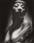 Photographs, GEORGE HURRELL (American, 1904-1992). Anna May Wong, 1938. Gelatin silver, printed later. Paper: 19-7/8 x 16 inches (50....