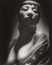 GEORGE HURRELL (American, 1904-1992) Anna May Wong, 1938 Gelatin silver, printed later Paper: 19-