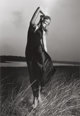 HIRO (American, b. 1930) Barbara Carrera in Brigance, East Hampton, New York, 1970 Gelatin silver Paper: 23-3/4 x 19-