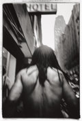 Photography :20th Century , MICHAEL ACKERMAN (American, b. 1967). Times Square, 1995-1996. Gelatin silver, 1996. Paper: 19-3/4 x 15-3/4 inches (50.2...