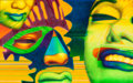 Paintings, ED PASCHKE (American, 1939-2004). Pazzo, 1986. Oil on linen. 50 x 80 inches (127.0 x 203.2 cm). Signed and dated lower ...