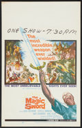 "Movie Posters:Fantasy, The Magic Sword (United Artists, 1961). Window Card (14"" X 22""). Fantasy.. ..."