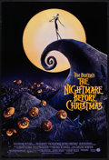 """Movie Posters:Fantasy, The Nightmare Before Christmas (Buena Vista, 1993). One Sheet (27"""" X 40"""") DS. Fantasy.. ..."""