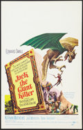 """Movie Posters:Fantasy, Jack the Giant Killer (United Artists, 1962). Window Card (14"""" X22""""). Fantasy.. ..."""
