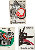Books:First Editions, Günter Grass. First German Editions of the Danzig Trilogy,including: Die Blechtrommel. [The Tin Drum]. ...(Total: 3 Items)