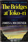 Books:First Editions, James A. Michener. The Bridges at Toko-ri. [New York]:Random House, [1953]. . First edition. Octavo. 147 pages pl...