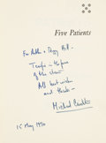 Books:Signed Editions, Michael Crichton. Four First Editions, Three of Which Are Signed,including: Five Patients, The Hospital Explained. ...(Total: 4 Items)