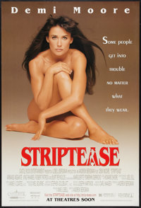 """Striptease (Columbia, 1996). One Sheet (27"""" X 40"""") DS Advance. Comedy"""