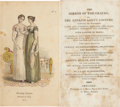 Books:Non-fiction, The Mirror of the Graces; or, The English Lady's Costume. New York: I. Riley, 1813. First American edition. Sixteenmo. 2...