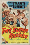 "Movie Posters:Western, Fort Savage Raiders (Columbia, 1951). One Sheet (27"" X 41""). Western.. ..."
