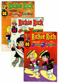 Bronze Age (1970-1979):Cartoon Character, Richie Rich and Jackie Jokers File Copies Group (Harvey, 1973-82)Condition: Average VF/NM.... (Total: 52 Comic Books)