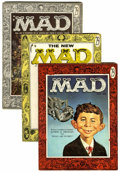 Magazines:Mad, Mad Group Comics (EC, 1955-59) Condition: Average VG.... (Total: 9 Comic Books)