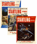 Pulps:Science Fiction, Startling Stories Group (Standard, 1953-55) Condition: AverageVG/FN.... (Total: 10 Items)