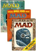 Magazines:Mad, Mad Group Magazines (EC, 1955-59) Condition: Average VG+.... (Total: 8 Comic Books)