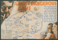 """The Most Dangerous Game (RKO, 1932). Herald (6"""" X 8.75"""" Folded Out). Thriller"""