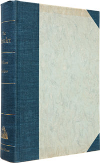 William Faulkner. Signed Limited Editions of The Snopes Trilogy, including: The Hamlet. New Yor