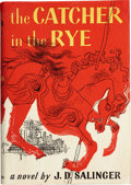 Books:First Editions, J. D. Salinger. The Catcher in the Rye. Boston: Little,Brown and Company, 1951.. First edition. Octavo. 277 p...