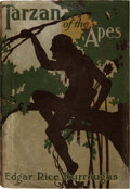Books:First Editions, Edgar Rice Burroughs. Tarzan of the Apes. Chicago: A. C.McClurg & Co., 1914.. First edition, first state, wit...