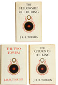 Books:First Editions, J. R. R. Tolkien. The Lord of the Rings, including: TheFellowship of the Ring. London: George Allen & Unwin...