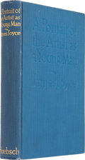 Books:First Editions, James Joyce. A Portrait of the Artist as a Young Man. NewYork: B. W. Huebsch, 1916.. First edition. Octavo. 2...