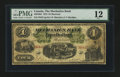 Canadian Currency: , Montreal, PQ- The Mechanics Bank $4 June 1, 1872 Ch. # 430-10-04....