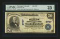 National Bank Notes:Colorado, Durango, CO - $20 1902 Plain Back Fr. 653 The Burns NB Ch. # 9797....