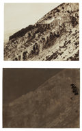 Photographs:19th Century, PAUL JEUFFRAIN (French, 1808-1896). Hillside near Naples, circa 1852. Calotype positive paired with paper negative, Circ...