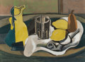 Impressionism & Modernism:Cubism, AFTER GEORGES BRAQUE (French, 1882-1963). Nature Morte auCitrons. Lithograph. Image: 13 x 18 inches (33.0 x 45.7 cm).S...