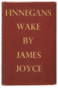 Books:First Editions, James Joyce. Finnegans Wake. London: Faber and Faber, 1934..First trade edition. Large octavo. 628 pages....