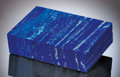 Lapidary Art:Boxes, ROYAL BLUE LAPIS BOX. ...