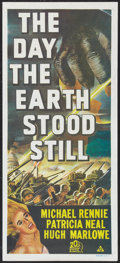 "Movie Posters:Science Fiction, The Day the Earth Stood Still (20th Century Fox, R-1970s).Australian Daybill (13.25"" X 30""). Science Fiction.. ..."