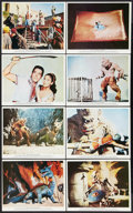 """Movie Posters:Fantasy, The 7th Voyage of Sinbad (Columbia, 1958). British Front of House Color Photo Set of 8 (8"""" X 10""""). Fantasy.. ... (Total: 8 Items)"""