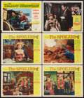 "Movie Posters:Adventure, The Spoilers Lot (Universal International, 1956). Lobby Cards (6)(11"" X 14""). Adventure.. ... (Total: 6 Items)"