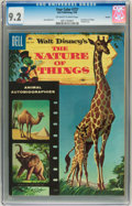 Silver Age (1956-1969):Miscellaneous, Four Color #727 The Nature of Things - Circle 8 pedigree (Dell, 1956) CGC NM- 9.2 Off-white to white pages....