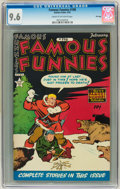 Golden Age (1938-1955):Miscellaneous, Famous Funnies #198 File Copy (Eastern Color, 1952) CGC NM+ 9.6 Cream to off-white pages....