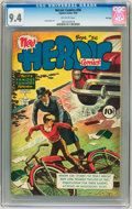 Golden Age (1938-1955):War, Heroic Comics #56 File Copy (Eastern Color, 1949) CGC NM 9.4Off-white pages....