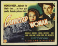 """Movie Posters:Bad Girl, Convicted Woman (Columbia, 1940). Title Lobby Card (11"""" X 14""""). BadGirl. ..."""