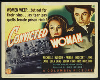 """Convicted Woman (Columbia, 1940). Title Lobby Card (11"""" X 14""""). Bad Girl"""