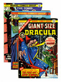 Bronze Age (1970-1979):Horror, Tomb of Dracula Related Western Penn pedigree Group (Marvel,1974-76) Condition: Average NM-.... (Total: 10 Comic Books)