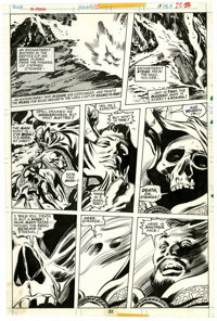 Gene Colan and Tom Palmer Doctor Strange #12 page 22 Original Art (Marvel, 1974)