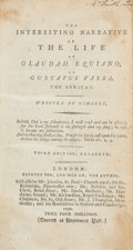 Books:Non-fiction, Olaudah Equiano. The Interesting Narrative of the Life ofOlaudah Equiano, or Gustavus Vassa, the African. London: [...