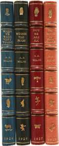 Books:First Editions, A. A. Milne. When We Were Very Young. With Decorations byErnest H. Shepard. London: Methuen & Co., [1924]. Firs...(Total: 4 Items)