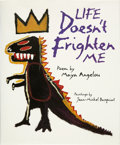 Books:Signed Editions, Maya Angelou and Jean-Michel Basquiat. Life Doesn't Frighten Me. New York: Stewart, Tabori & Chang, [1993]. First ed...
