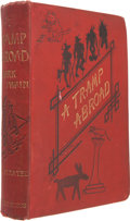 Books:First Editions, Mark Twain. A Tramp Abroad. London: Chatto & Windus,1880. First British edition. Publisher's red cloth with lig...