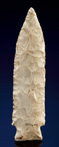 Paleolithic Artifacts:Arrowheads & Paleo Points, LARGE ETLEY SPEARPOINT. ...