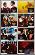 "Movie Posters:Science Fiction, Star Trek II: The Wrath of Khan (Paramount, 1982). Lobby Card Setof 8 (11"" X 14""). Science Fiction.. ... (Total: 8 Items)"