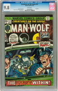 Bronze Age (1970-1979):Horror, Creatures on the Loose #31 (Marvel, 1974) CGC NM/MT 9.8 Whitepages....